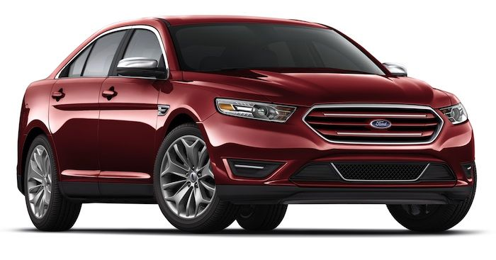 2014 Ford Taurus Red